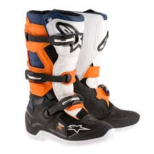 motorcycle road boots alpinestars racing tech 7s youth kids off road dirt bike junior