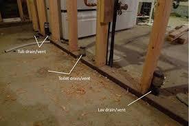 basement bathroom rough in plumbing plumbing rough in cost estimate terry love plumbing u0026 remodel