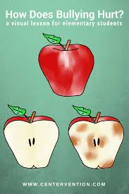 a bullying lesson using apples