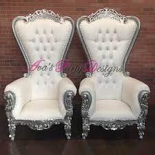 baby shower chair rentals white and silver duchess highback chairs for party rental great
