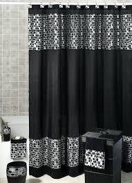 Black Bathroom Curtains Grey Bathroom Window Curtains Lifeunscriptedphoto Co