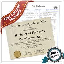 fake diploma templates high college buyafakediploma com