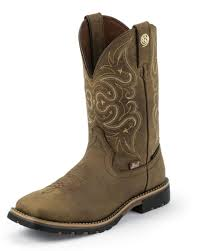 womens boots george george strait embossed golden oak boot by justin
