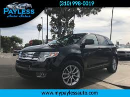 used 2007 ford edge sel plus at payless auto sales