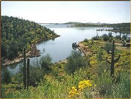 lake pleasant map the arizona fishing guides lake pleasant