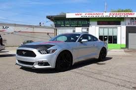 ford mustang specialist 2015 ford mustang ecoboost premium 2dr fastback in lansing mi a