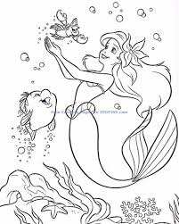 top the little mermaid coloring pages 41 65