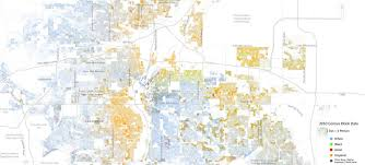 Denver Neighborhoods Map How Racially Segregated Is Denver Compared To Other Major U S