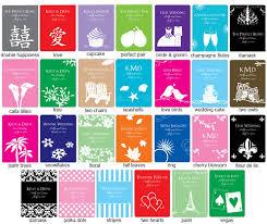 personalized tea bags personalized tea bag favor silhouette collection unique