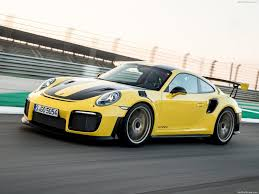 porsche yellow porsche 911 gt2 rs 2018 pictures information u0026 specs