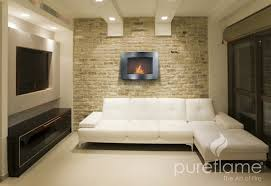 Urban Loft Style - a veneer brick wall is the basis for creating that industrial