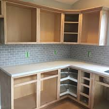Painting Bare Wood Cabinets It U0027s A Grandville Life How To Paint Kitchen Cabinets