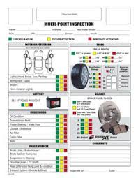 Vehicle Inspection Report Template Free by Vehicle Inspection Checklist Template Inspection