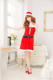 cosplay women santa claus festival dress christmas clothes