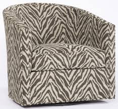 swivel upholstered chairs animal print swivel chair
