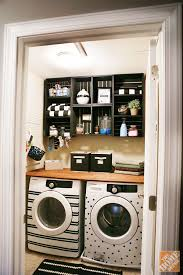 Storage Ideas For Laundry Room Laundry Room Makeover That S Easy And Inexpensive The Home Depot