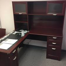 Magellan Office Furniture by Realspace Magellan Desk 101 095 Hutch 101 075 Office Furniture