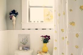 White And Yellow Shower Curtain Light Yellow Shower Curtain Sunny And Bright Grey And Yellow