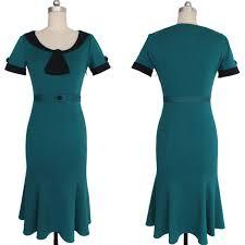 aliexpress buy size 7 10 vintage retro cool men retro polka dot dress sleeves office wear fishtail