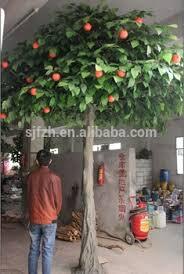 big apple tree ornaments for zoo decoration plastic apple