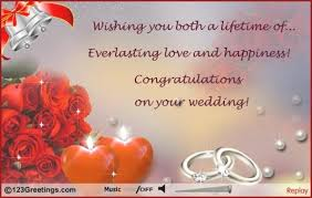 greeting cards free wedding day greetings cards wblqual