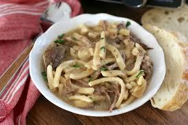 crock pot beef u0026 noodles the country cook