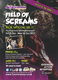 book now carrowmena u0027field of screams u0027 limavady northern ireland