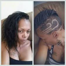 braids with half shaved head micro braids shaved sides my styles pinterest shaved sides