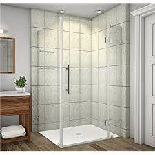 48 In Shower Door Vigo Monteray 32 X 48 In Frameless Shower Enclosure With 375 In