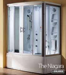 Niagara Shower Door The Niagara Steam Shower And Whirlpool Bath From Di Vapor House