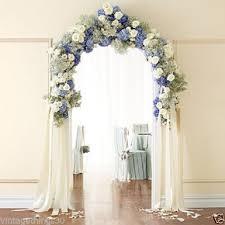wedding arches on ebay 7 foot white wedding arch indoor outdoor wedding decor ebay