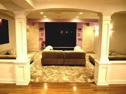 how to build a half wall with columns affordable newl post at top