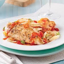 cuisine poulet au four poitrines de poulet à l italienne et légumes au four recettes