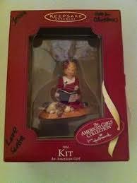 2002 kaya an american hallmark ornament in box 3 doll