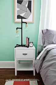 Mint And Grey Bedroom by