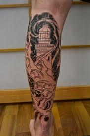 Lighthouse Tattoo Ideas Neo Traditional Lighthouse Tattoo Design Idea Tattoo Pinterest