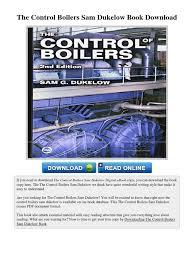 boiler operation engineer study guide the control boilers sam dukelow