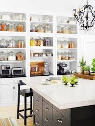 how to organize open kitchen cabinets ideas for a great open shelf kitchen decoholic