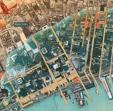 San Francisco Pier Map by San Francisco Shipwrecks Shown Underneath City In New Map Daily