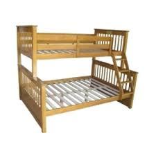 Bunk Bed Wooden Futon 3 Sleeper Bunk Bed Honey Pine 3 Sleeper Bunk Bed Wooden