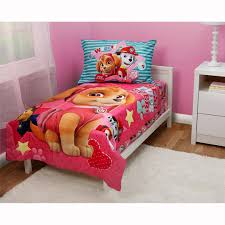 Best Sheet Brands On Amazon by Amazon Com Paw Patrol Skye Best Pups Ever 4 Piece Toddler Bed