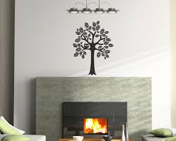 Nursery Tree Stickers For Walls Tree Vinyl Wall Decal Size Small Tree Wall Decal Tree Art