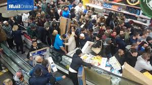 black friday turns as shoppers fight bargains daily