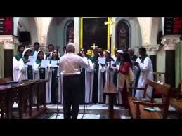luthern church choir special song harvest festival 2012