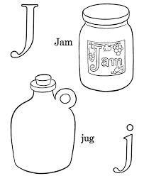 j alphabet coloring page alphabet coloring pages of