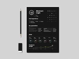 free abstract resume template for designers graphic google