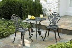 metal patio chairs and table outdoor adirondack patio chairs and small table choosing tips for