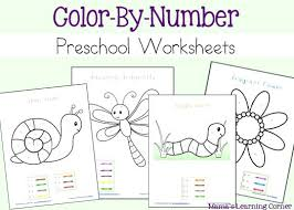 free color by number pages u2013 corresponsables co
