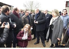 chambre agriculture saone et loire eusèbe la visite du ministre de l agriculture stéphane