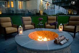 Backyard Firepit by Outdoor Fire Pit In Highland Park Van Zelst